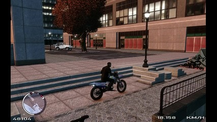 Sanchez Тест - Slow Motion [gta Iv - Tbogt]