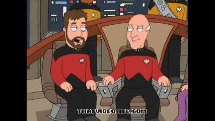 Family Guy Пародия На Star Trek