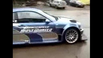 Real Nfs Most Wanted - Bmw M3 Gtr