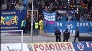 Феновете на Левски поискаха обяснение от играчите