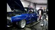 Голф 2 Рали Vr6 Turbo 549.5 Hp