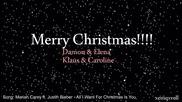 Делена и Клеролайн || Всичко, което искам за Коледа си ти
