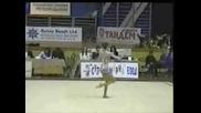 Росица Стефанова - Художествена Гимнастичка
