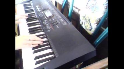 Йордан Йончев - Гъмзата и Борис Солтарийски - Умна и Красива (keyboard cover)