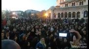 Протест за свалянето на имунитета на Волен Сидеров