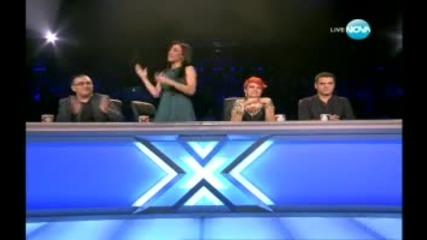 X Factor Bulgaria Bogomil (lady Gaga) Bad Romans 22.11.2011