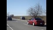 Гонки Добрич Бмв 525tds vs Dodge Стратус 2.4