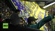 Аржентина: Тевес е посрещнат от 40 000 фенове на Бока при завръщането си в клуба