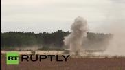 Lithuania: President Grybauskaite inspects Saber Strike military drills