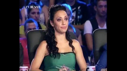 смях! Дончо,бейбе ( Циганин не може да изпее песента си,но все пак минава ? ) - X Factor Bulgaria