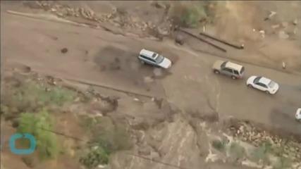 Heavy Rains Collapse California Bridge, Bringing Travel Woes