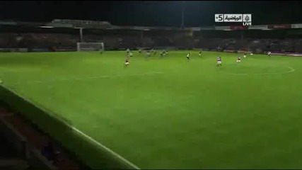 Scunthorpe 1 – 3 Manchester United [carling Cup]