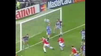 Байерн Мюнхен - Манчестър Юнайтед Финал на Шампионска Лига 1999