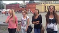 Руски момичета показват красиво пеене на народна песен !
