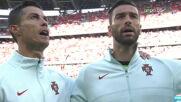Атмосферата преди Унгария - Португалия