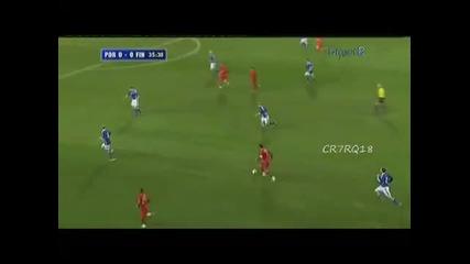 Малка част от уменията на Кристиано Роналдо !