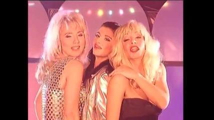 Vesna Zmijanac, Lepa Brena & Mira Skoric - Muskarci - (Official Video 1994)