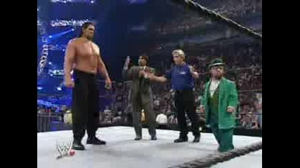 Wwe Survivor Series The Great Khali vs Hornswoggle