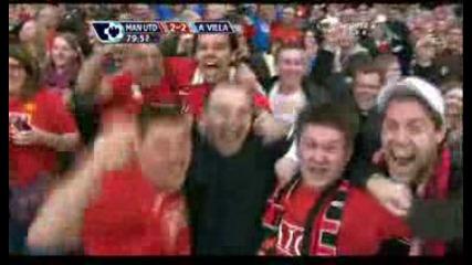 Манчестър Юнайтед 3 - 2 Астън Вила Роналдо Гол *hq*
