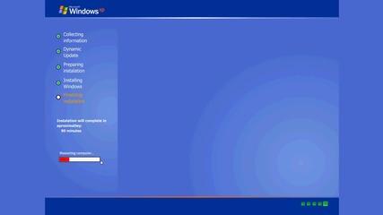 Windows Xp Instaling - Simulation