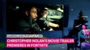 Новият филм на Кристофър Нолън с премиера във Fortnite