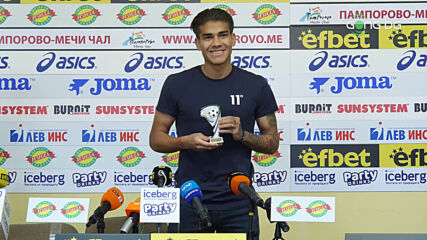 Федерико Варела бе награден за №1 в 26-ия кръг в efbet Лига