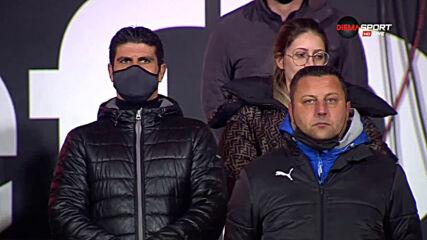 Минута мълчание в Пловдив в памет на Никола Спасов, Димитър Ларгов и Диего Марадона