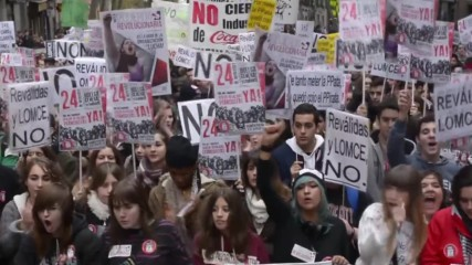 Spain: Hundreds take to Madrid's streets to protest new education law