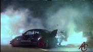 Много як Nissan Skyline Gtr прави - Burnouts , Реве и хвърля пламъци !