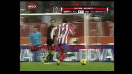 01.02 Атлетико Мадрид - Валядолид 1:2 Калво Автогол