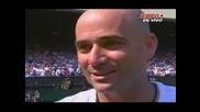 Wimbledon 2006 : Надал - Агаси
