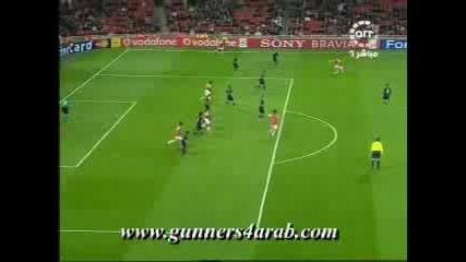 Арсенал - Славия Прага 7:0 Бендтнер