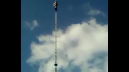 Мъж Скача От 20 Метра!!!!