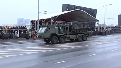 Lithuania: US Patriot missiles join Vilvius parade for 100 years of Armed Forces