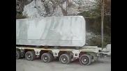 Огромен Мраморен Блок - Monolite Carrara - 10.5 х 2.45 х 1.80