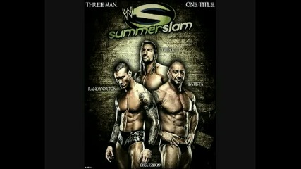 Wwe Summerslam 2009 Official Poster and Theme
