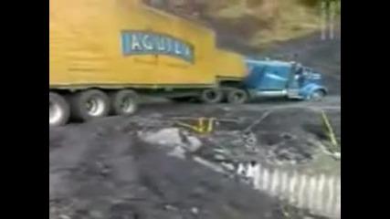 Ужасен инцидент с камион