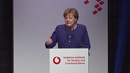 Germany: 'Europe lags behind global tech powers' - Merkel