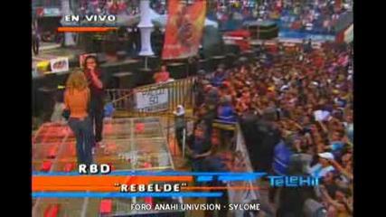 Rbd - Rebelde (concierto Exa 2008).wmv
