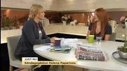 Helena Paparizou talks about Melodifestivalen and her depression