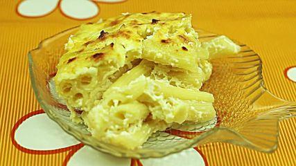 Класическа рецепта за макарони на фурна