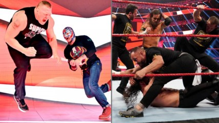 Rey Mysterio rebate contra Brock Lesnar e NXT continua atacando: O Melhor da WWE