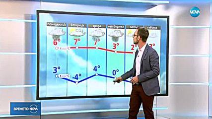 Прогноза за времето (19.11.2018 - обедна емисия)