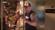 Wwe The Rock имитира John Cena