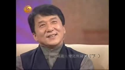 Jackie on chinese talk show 6