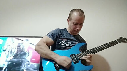 Oki Guitar Player-Open Your Heart (Europe cover)