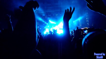 The Prodigy - Out Of Space live at spirit of Burgas 2010