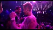 Джъстин в клуб заедно с Busta Rhymes и Rick Ross