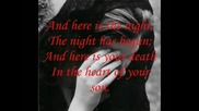 Leonard Cohen - Here it is