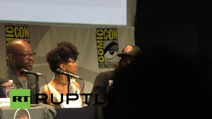 USA: The Walking Dead cast discuss season 6 during Comic-Con appearance